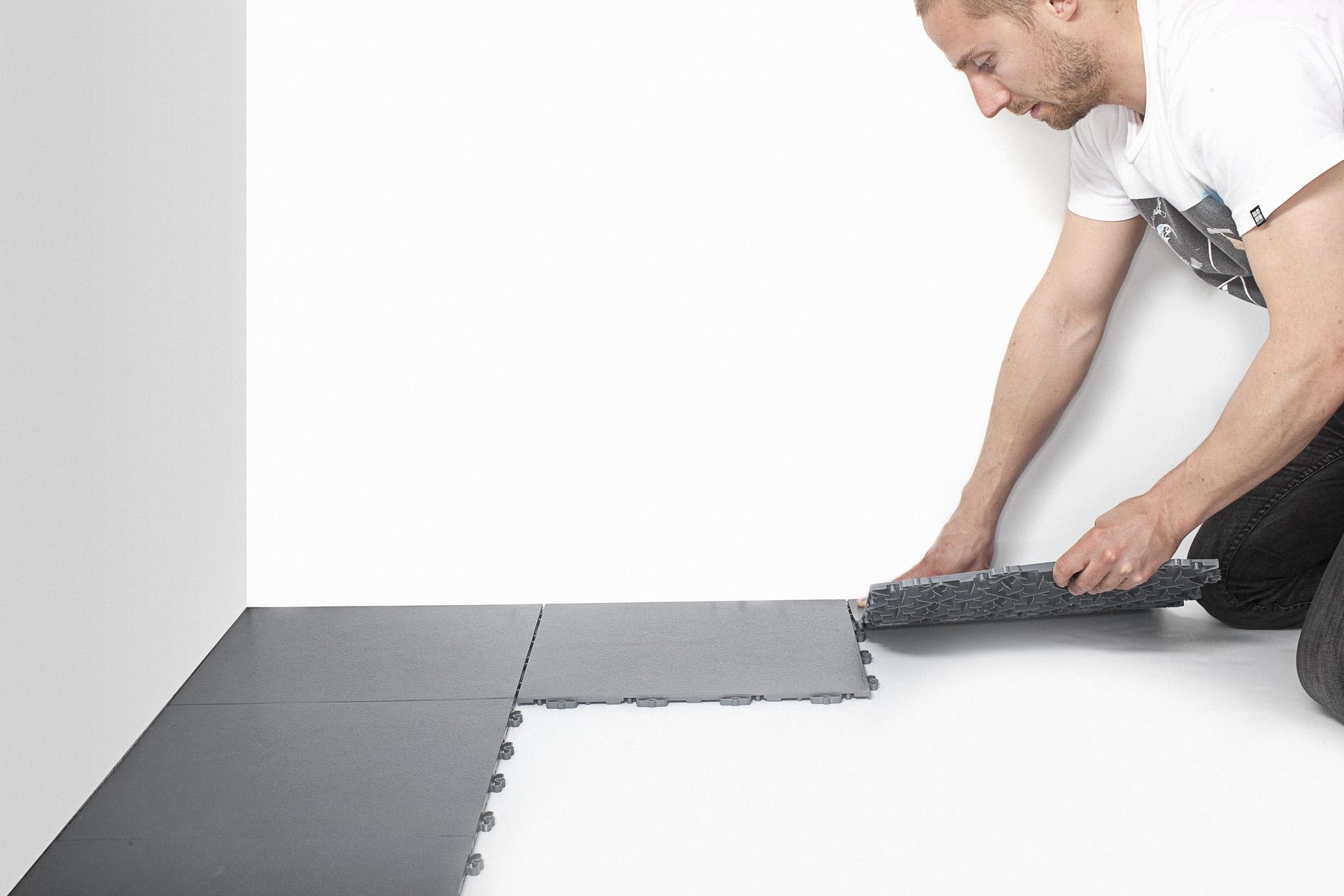 att lägga golv i källare