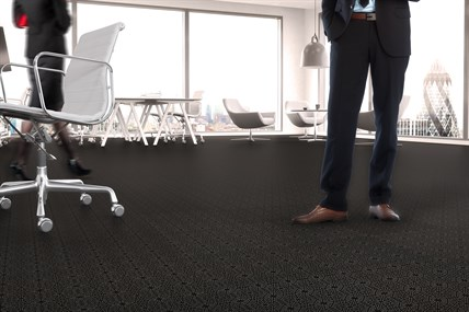Top Tile Black Prism Office